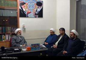 دیدار دبیر ستاد عالی کانونهای مساجد کشور با امام جمعه فردوس