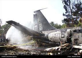 سقوط هواپیمای باربری