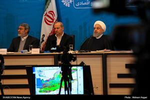افتتاح پروژه های زیربنایی و اقتصادی استان گلستان با حضور رئیس جمهور
