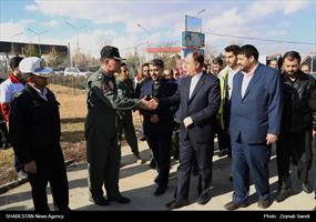 افتتاح پایگاه اورژانس هوایی در همدان با حضور رییس اورژانس کشور