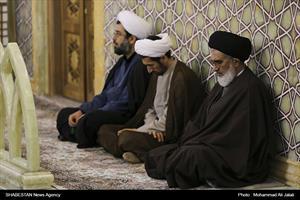 عزاداری شهادت حضرت زهرا(س)همراه با وداع دو شهید گمنام در حرم حضرت معصومه(س)