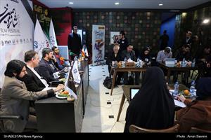 نشست خبری شانزدهمین جشنواره فیلم فجر مشهد