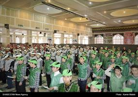 اجرای گروه های سرود ستاد عالی کانون های فرهنگی و هنری مساجد کشور در استان ها (۲)