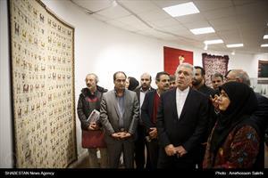 بازدید رئیس سازمان میراث فرهنگی از نمایشگاه آثار جشنواره صنایعدستی فجر