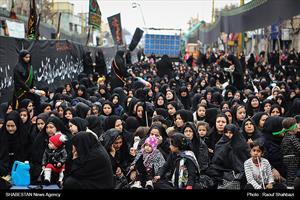 تجمع عزادارن فاطمی جنوب تهران