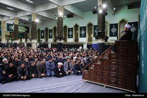آخرین شب مراسم عزاداری حضرت فاطمه زهرا (سلاماللهعلیها)