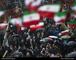 حضور پرشور مردم دریوم الله ۲۲ بهمن ماه