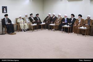 دیدار اعضای مجلس خبرگان رهبری با رهبر انقلاب