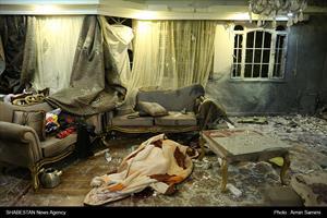 انفجار مواد محترقه در منزل مسکونی و کشته شدن یک نفر