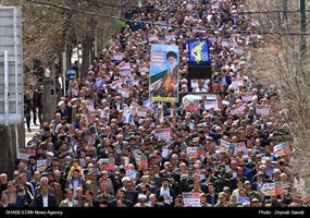 راهپیمایی نمازگزاران در استانها