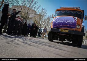 کلیپ/ اعزام کمک های فعالین رسانه ای ارومیه  به مناطق سیل زده لرستان