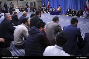 دیدار شرکتکنندگان در مسابقات بینالمللی قرآن با رهبر انقلاب
