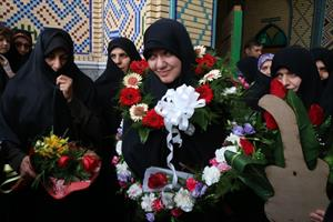 استقبال از زینب امین پور نفر نخست مسابقات بین المللی دانش آموزی