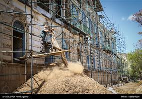 بازسازی کاخ موزه باغچه جوق ماکو