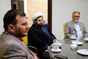 دیدار دکتر ارزانی با قائم مقام مجمع فلاسفه ایران