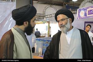 پنجمین روز نمایشگاه قرآن و عترت در اهواز- حجت الاسلام سید عبدالنبی موسوی فرد