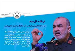 عکس نگاشت/ نبرد اطلاعاتی بین ایران و آمریکا