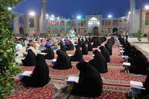 آیین ملی جزء خوانی قرآن در حرم هلال بن علی(ع)