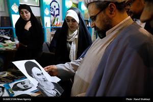بازدید حجت الاسلام و المسلمین ارزانی از نمایشگاه قرآن کریم