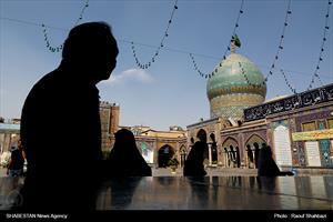 حرم مطهر شاه عبد اعظیم حسنی در ماه مبارک رمضان