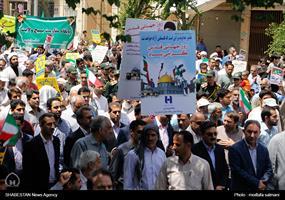 راهپیمایی روز جهانی قدس در یزد