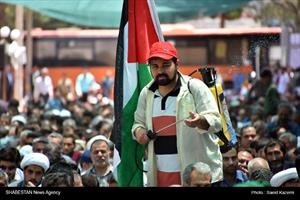 راهپیمایی روز قدس در بیرجند