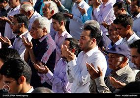 اقامه نماز عید سعید فطر درزارچ