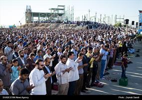 اقامه نماز عید سعید فطر در همدان