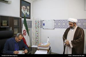 بازدید استاندار قم از ستاد هماهنگی کانون های فرهنگی هنری مساجد استان قم