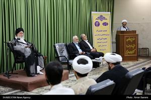 دیدار اعضای شورای هماهنگی بزرگداشت دهه کرامت با آیت الله علم الهدی