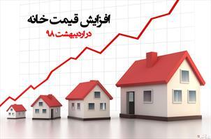 اینفوگرافی/ افزایش قیمت خانه