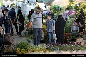 آیین افتتاحیه هجدهمین نمایشگاه بین المللی گل و گیاه مشهد