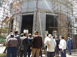 کارگاه ساخت گنبد امام حسین علیه السلام در کرمان