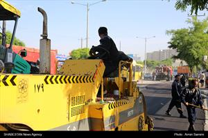 آغاز عملیات آسفالت و بهسازی سه میلیون ششصد هزار متر مربع از معابر شهر مشهد