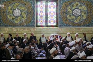 تشییع پیکرآیتالله العظمی حسینی شاهرودی در قم