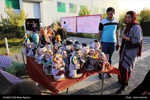 افتتاح دهمین نمایشگاه صنایع دستی و هنرهای سنتی