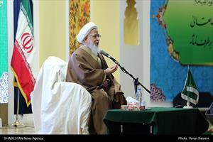 دیدار آیت الله جوادی آملی با نحبگان حوزوی و دانشگاهی