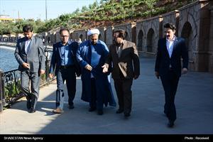 حضور حجت الاسلام و المسلمین ارزانی در گلزار شهدای شهر تبریز
