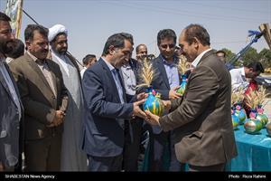 جشن خرمن در بخش ماهیدشت کرمانشاه