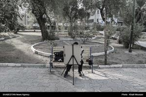 سید احمد نقاشی پارک نشین