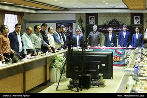 نشست خبری استاندار قم به مناسبت هفته دولت