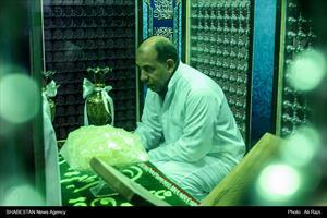 آیین غبارروبی امامزاده سلطان سید عباس(ع)
