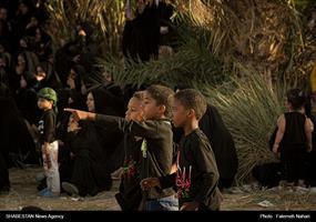 تعزیه روز عاشورا در جزیره مینو