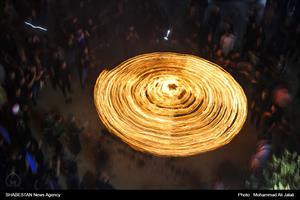 مراسم سنتی ((مشعل گردانی))