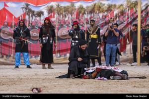 تعزیه شهادت حضرت عباس (ع) در لامرد
