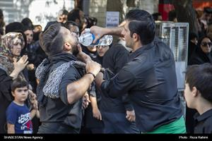 مراسم تاسوعای حسینی در کرمانشاه