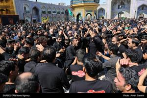 عزاداری روز تاسوعا در مشهد مقدس