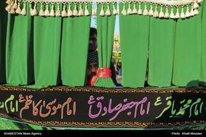 برگزاری مراسم تاسوعا در اهواز