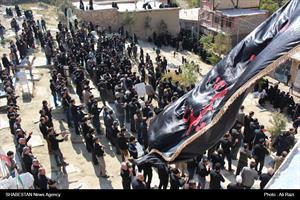 مراسم عاشورا در روستای اسفیدان