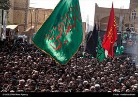 مراسم عزاداری عاشورای حسینی در زارچ یزد